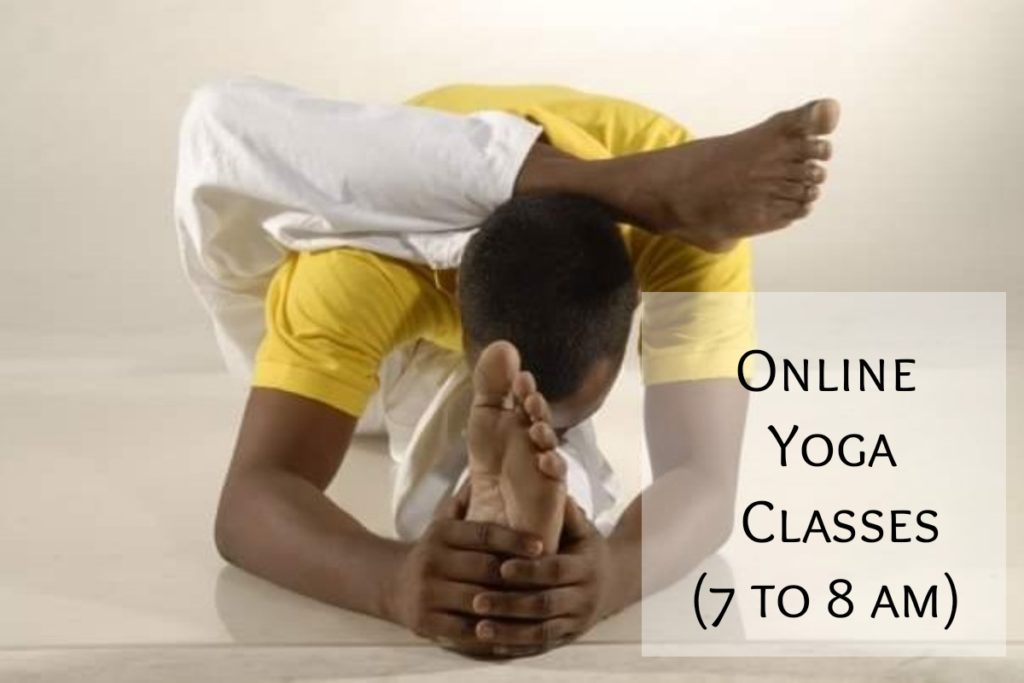 Morning Online Yoga classes / 4 weeks challenge / Starting Monday 1st of February 2021
